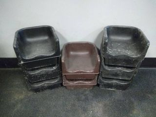 lot of 8 Booster Seats
