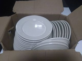 Box of Approx 26 Dinner Plates