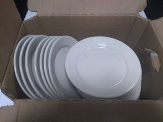 Box of Approx 18 Dinner Plates