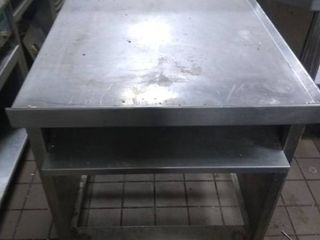 Rolling Stainless Steel Dressing Table