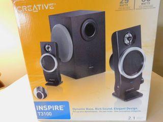 3 Piece Sound System