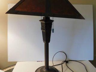 Metal Amber lamp