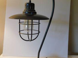Black Industrial lamp
