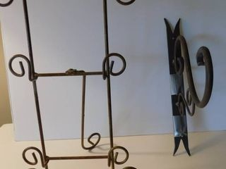 Display Stand   Wrought Iron hanger