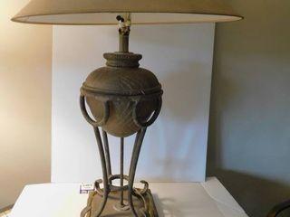 Metal   Wood Decorative lamp