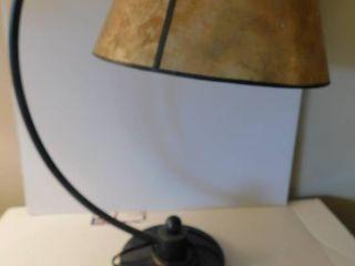 Masculine Black   Gold lamp