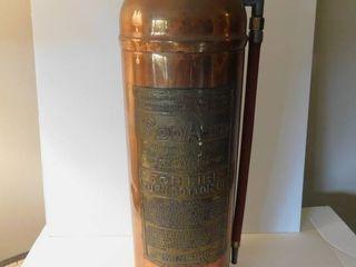 Copper   Brass Fire Extinguisher