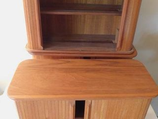 CD Tamboured Cabinets  3 ea