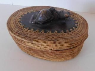Finely Woven Basket