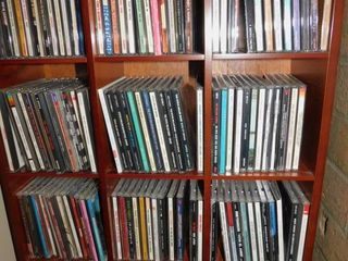 CD Cabinet with 144 CDs