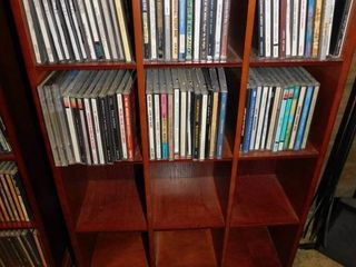 CD Cabinet with 72 CDs
