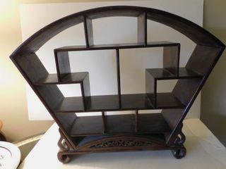 Fan Shaped Curio Shelf