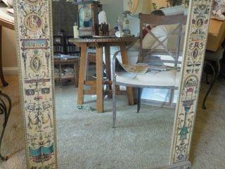 Empire Style Beveled Mirror