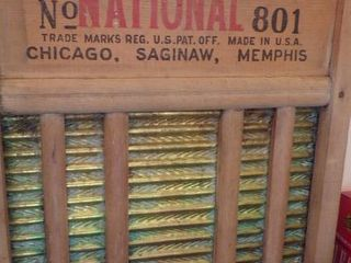 NATIONAl WASHBOARD
