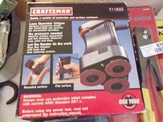 CRAFTSMAN TRIPlE HEAD SANDER