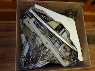 lARGE BOX OF HANGERS