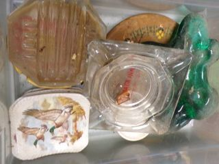 VINTAGE ASHTRAYS ETC