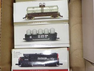COllECTIBlE TRAIN AND CARS