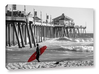 Existential Surfing at Huntington Beach Art
