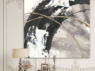 Glam Painted Arcs Canvas Retail 92 99