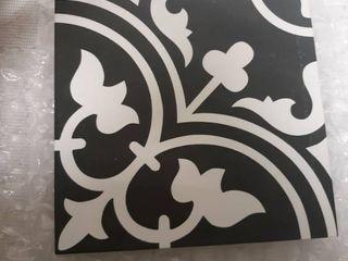 Art Black Porcelain Floor and Wall Tile