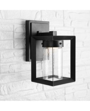 Cube Bubble Glass lED Sconce lot of 2