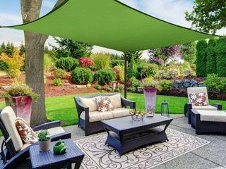 Sun Shade Canopy  Rectangle  Green