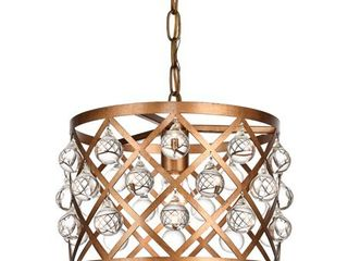 Camden Collection Pendant Gold Finish  Retail 153 00