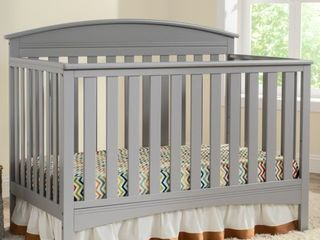 4 in 1 Convertible Crib  Grey  Retail 251 49