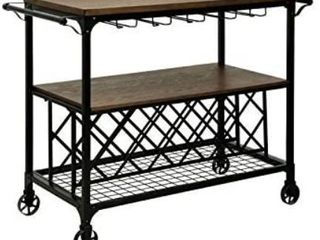 3 tiered Shelved Faux Cart