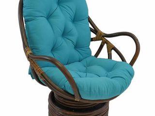 Solid Swivel Rocker Cushion Set of 2 48 by 24 inch  Cushion Only No Rocker