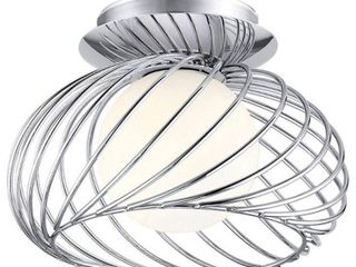 Thebe Wall or Ceiling light  Chrome lot of 2