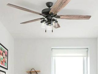 lED Ceiling Fan with Remote Control 5 Reversible Blades Retail 188 99