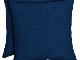 Sapphire Throw Pillow  2 pack