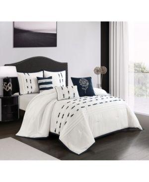 6 Piece Comforter Set King  Retail 84 99