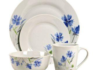 1 Cup is Broke 16pc Dinnerware Set   Wildflower