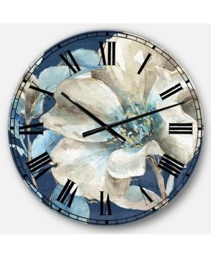 Flower Farmhouse Oversized Wall Clock