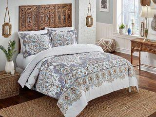 3 Piece Comforter Set Full Queen  Retail 89 98