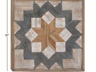 Geometric Wooden Wall Art by Studio 350