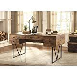 Analiese Industrial Antique Writing Desk Retail 577 49