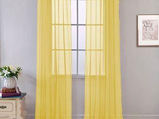 Grommet Curtain Panel 54 x 84 lot of 2