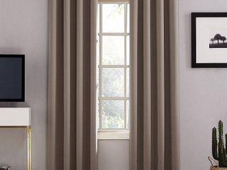 100  Blackout Grommet Curtain Panel lot of 2