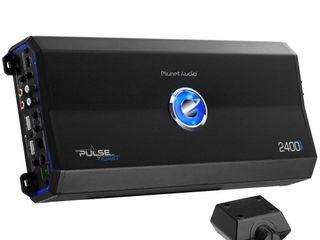 PlANET AUDIO Pl2400 4 2400W 4 Channel 2 Ohm Stable Amplifier
