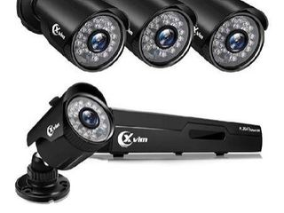 XVim 1080n security camera system with 4cameras