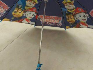 Nickelodeon Paw Patrol Slicker and Umbrella Rainwear Set  for Toddler and little Boys  Dark Blue  lARGE  AGE 6 7