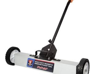 Neiko 53418A Heavy Duty 36 Inch Magnetic Sweeper Pickup Tool with Wheels