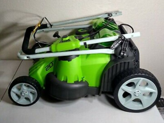Greenworks 40V 20  Dual Blade lawn Mower   2AH battery     1 4 Ah Battery   charger included