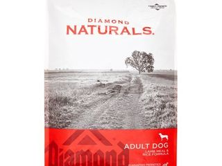 Diamond Naturals Dry Food for Adult Dogs  lamb and Rice Formula  20 Pound Bag