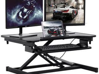Standing Desk Coverter Stand Up Desk Adjustable Desk 32 Inches Riser Home Office