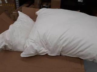 2 Standard Queen size pillows